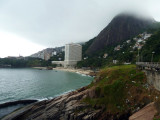 Sheraton Rio at the base of the Two Brothers
