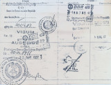 Entry and Exit Visas for the German Democratic Republic, 1987