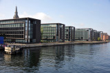 Crossing the Knippelsbro bridge from the city center to Christianshavn