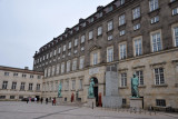 Square between the Thorvalden Museum & the north wing of Christianborg - Queen's Gate