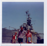 Battleship Cove, Fall River MA, mid-1970s