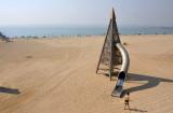 Slide on the beach - Platja Nova Mar
