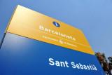 Platja Sant Sebastià - the last beach on this 5 km stretch from the Forum