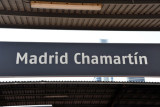 Madrid Chamartín Station in the north of the city