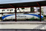 Altaria locomotive at Madrid Chamartín for long distance trains