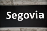 The local trains from Madrid take around 1hr 45 minutes to Segovia's main station
