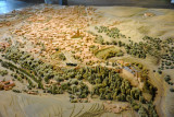 Model of Segovia seen from the northwest