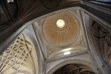 Beneath the main dome of Segovia Cathedral