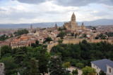 View of Segovia from the Alcazar - Torre de Juan II