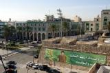 View of Martyr's Square (Green Square) from Tripoli Castle