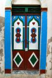 Colorful doorway, Tripoli medina