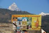 Gorkha Beer advertisement, Pokhara Lakeside