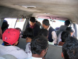 Travel by minibus, Nepal