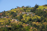Hillside, west end of Kathmandu Valley