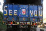 See You on the back of a Nepali truck