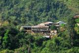 Small hillside village, Narayani River valley