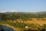 Marsyangdi River with Manaslu and Himalchuli