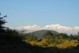 Manaslu (8156m/26,758ft) and Himalchuli (7893m/25,895ft)