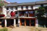 Roadside village between Pokhara and Damauli, Nepal