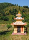 Roadside shrine, Prithvi Highway, Nepal