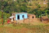 Small house along the Prithvi Highway, Tanahu Province