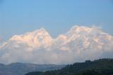 Manaslu (8156m/26,759ft) 8th tallest - and Ngadi Chuli (7871m)