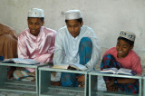 Boys reciting the Koran in a Dhaka medrassa