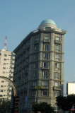 A respectable looking office building at the Banglas Motors crossing, Kazi Nazrul Islam Ave