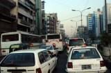 Traffic Jam, Airport Road, Dhaka