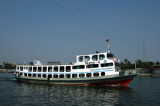 Medium-sized ferry headed to Dhaka