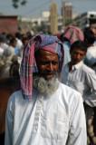 Old Bangladeshi man with a colorful head cloth