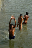 They can enjoy playing in the river