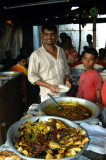 Bangladeshi restaurant at the Fatulla Market
