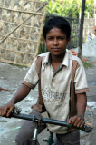 Boy on a bike, Fatulla
