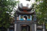 Gate to Ngoc Son (Jade Mountain) Temple, Hoan Kiem Lake, Hanoi