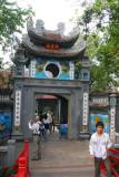Gate to Ngoc Son Temple, Hanoi