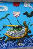Turtle with Emperor Le Loi's magic sword
