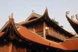 The last building of the Temple of Literature, a two-story pavilion