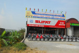 A booming business, Sufat selling motorbikes in Vietnam,