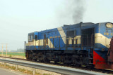 Vietnamese locomotive between Ninh Binh and Haiphong