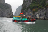 Arriving in Hon Gai on the north side of Halong Bay
