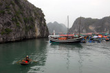 Berths were not available on the days we wanted, so we reversed our trip and went first to Ninh Binh, then Cat Ba Island