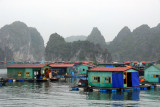 To get from Cat Ba Island to Halong City, our agent arranged a private boat for the three hour crossing
