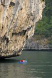 Kayakers, Halong Bay
