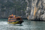 Trinh Vu 19 - a Halong Bay day boat for excursions from Cat Ba Island