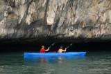 Exploring Halong Bay by kayak looked like a good option