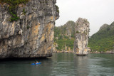 Halong Bay - a UNESCO World Heritage Site