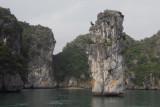 Free standing pillar slightly reminicient of James Bond Island, Phangnga Bay, Thailand