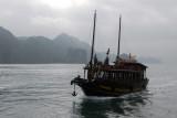 Trinh Vu 19 on a Halong Bay cruise from Ben Beo Harbor, Cat Ba Island