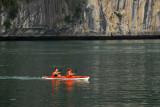 Kayakers, Halong Bay, Vietnam